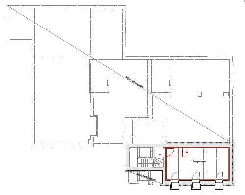 Floor plan basemement (ARCH+MORE)