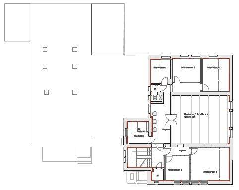 Floor plan first floor (ARCH+MORE)