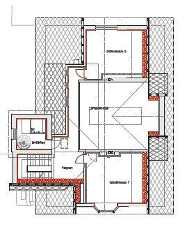 Floor plan second floor (ARCH+MORE)