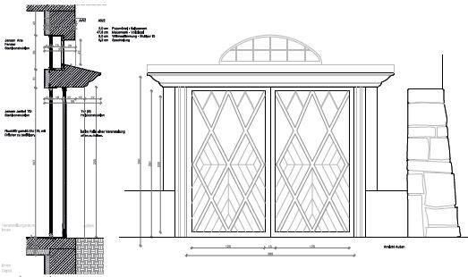 Details of gate windows (ARCH+MORE)