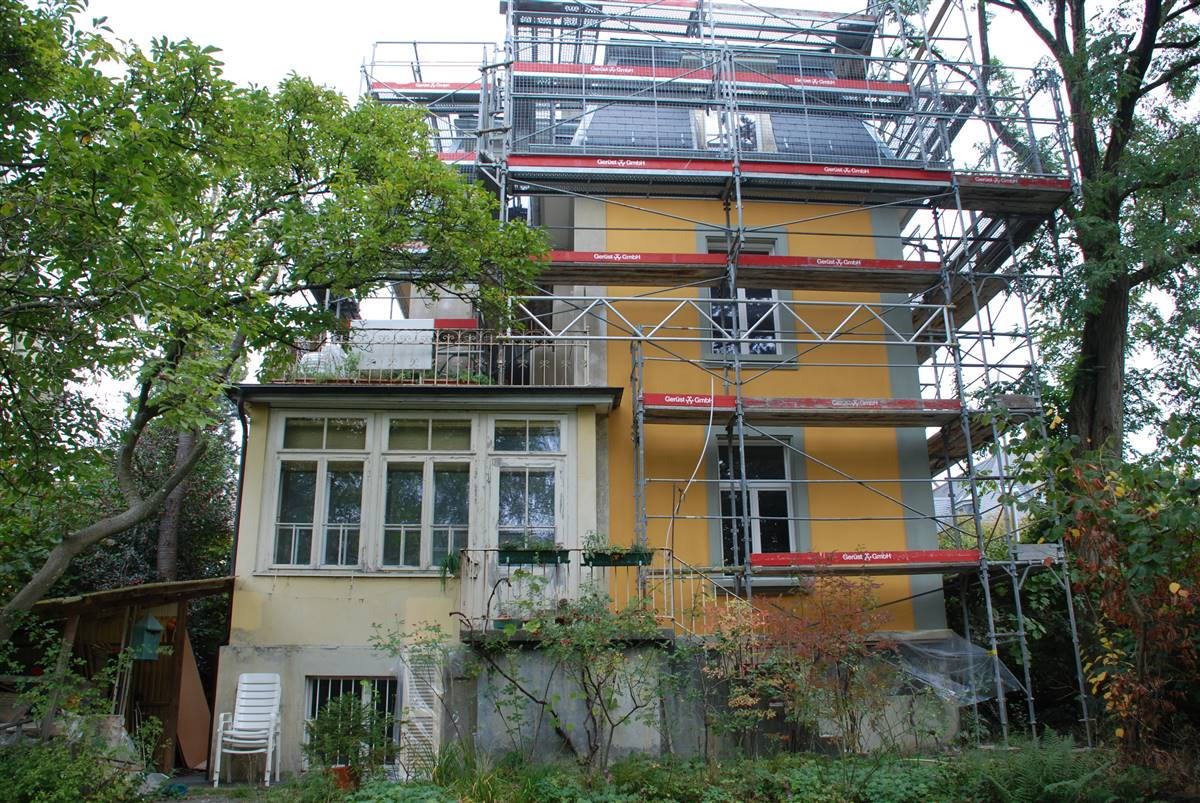 External renovation process © M. Hutterli