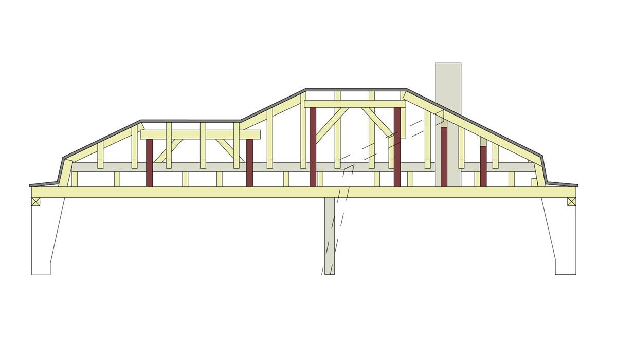 Roof structure © Wermuth architects