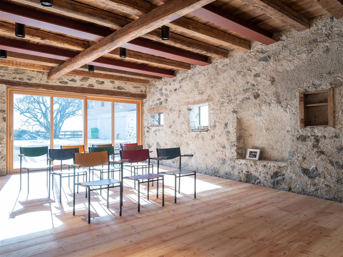former stable, now it is used as a seminar room, © Silbersalz