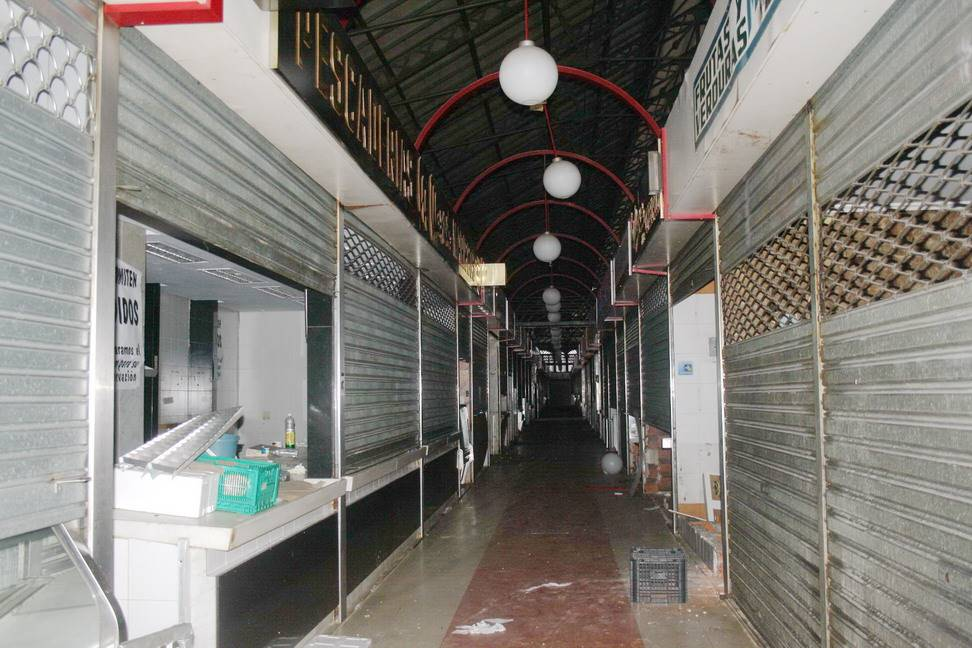 Picture of the market showing the previous state