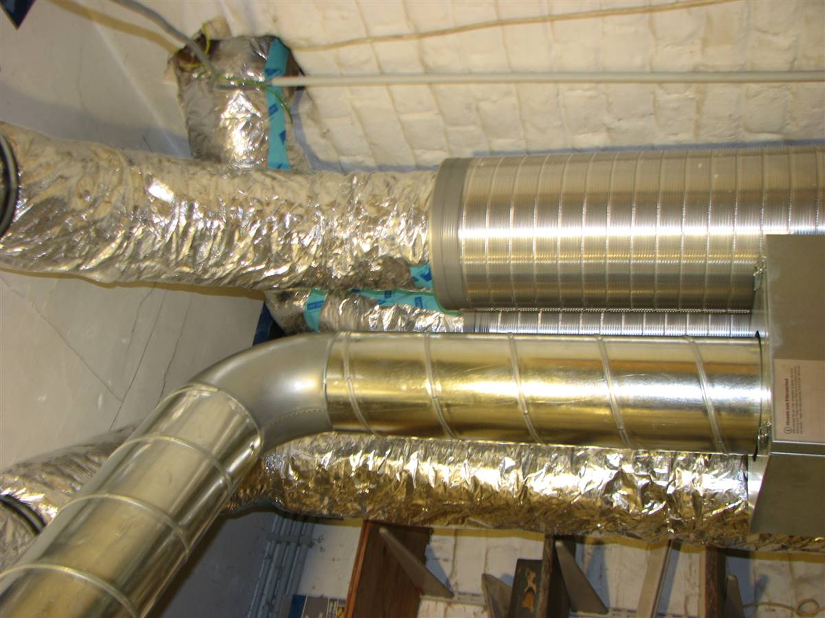 duct for ventilation