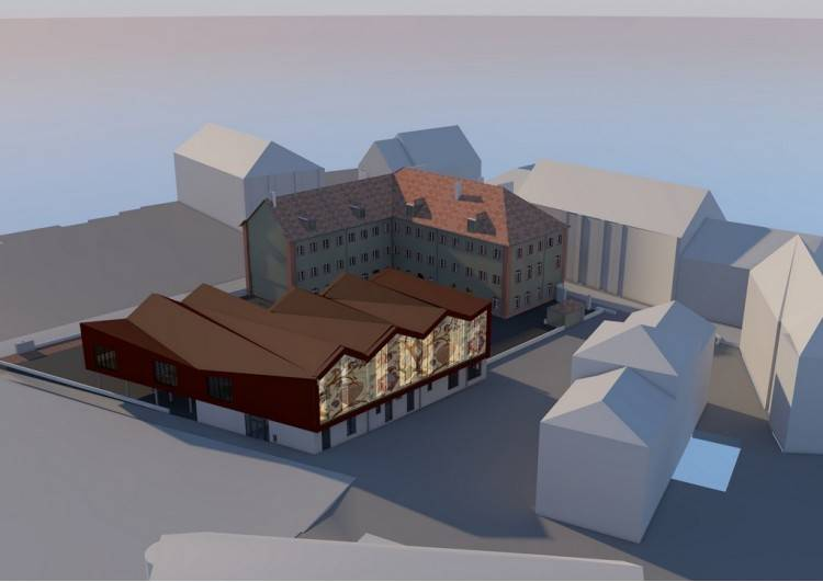 3d-view of the building (author : Pierre Lynde)